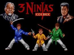 3 Ninja Kick Back