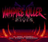 Akumajou Dracula - Vampire Killer