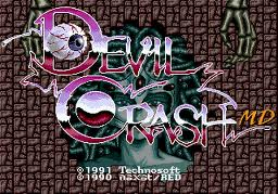 Devil Crash MD