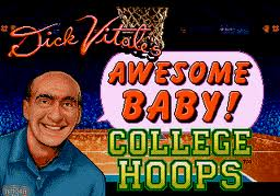 Dick Vitales Awesome Baby College Hoops