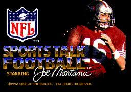 Joe Montana Sports Talk Football