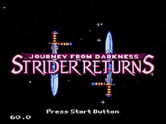 Journey From Darkness - Strider Returns