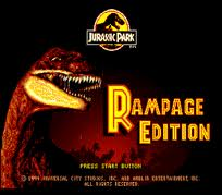 Jurassic Park- Rampage Edition