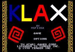 109.17161: Klax | arcade game | Arcade Games | Video Games ...