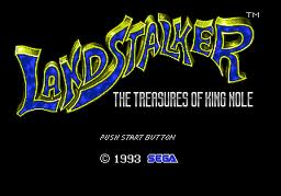 Landstalker - The Treasures of King Nole