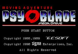 Psy-O-Blade Moving Adventure