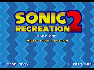 Sonic 2 Recreation | SSega Play Retro Sega Genesis / Mega
