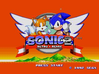 Sonic 2 Retro Remix | SSega Play Retro Sega Genesis / Mega drive