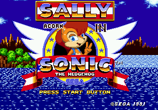 Sally Acorn in Sonic the Hedgehog