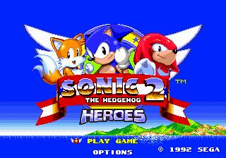 Sonic The Hedgehog 2 Heroes Ssega Play Retro Sega Genesis Mega Drive Video Games Emulated Online In Your Browser