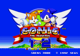 Sonic 1 and 2
