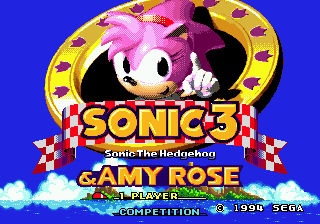 Sonic 3 and Amy Rose