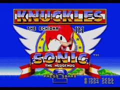 Sonic and Knuckles & Sonic 2