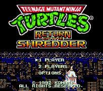 Teenage Mutant Ninja Turtles - Return of the Shredder