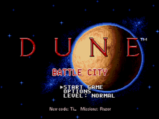 Dune - Battle City