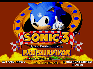 Sonic 3 & Knuckles Pro Survivor Demo