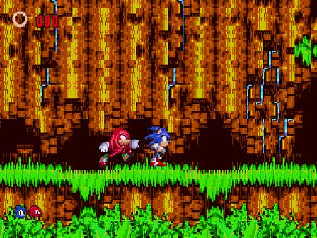 Sonic 3 and Knuckles Tag Team | SSega Play Retro Sega Genesis / Mega