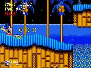 Sonic 2 Ex Ssega Play Retro Sega Genesis Mega Drive