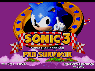Sonic 3 & Knuckles: Pro Survivor Demo 2