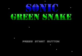 Sonic Green Snake V 4