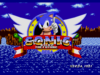 Sonic 1: Back 2 The Future